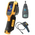 Fluke Ti100 9Hz Thermal Imager Kit - Includes BS-150 Borescope & R7100 Tachometer for FREE