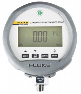 Fluke 2700G-G35M/C Reference Pressure Gauge with Accreditation, 0 to 5000 PSI-