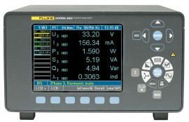 Fluke N4K 3PP42B Norma 4000 3-Phase Power Analyzer with 3 x PP42 Modules with Binding Posts-
